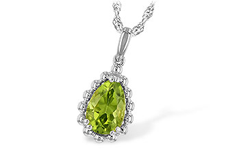 D189-67985: NECKLACE 1.30 CT PERIDOT