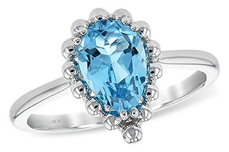 H189-67984: LDS RG BLUE TOPAZ 1.55 CT